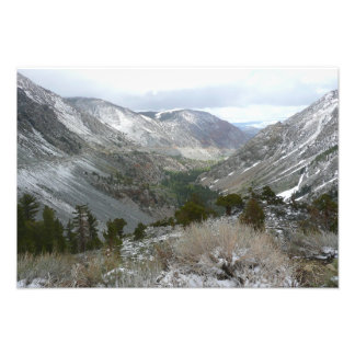 Snowy Sierra Nevadas Photo Print