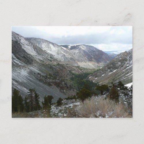Snowy Sierra Nevadas Postcard postcard