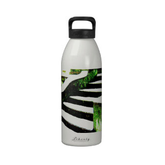 Snowy stairs reusable water bottles