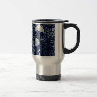 Snowy Streetlight Travel Mug