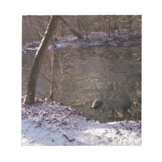 Snowy Sugar Creek Memo Pad