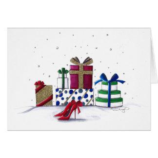 Snowy Surprises Card