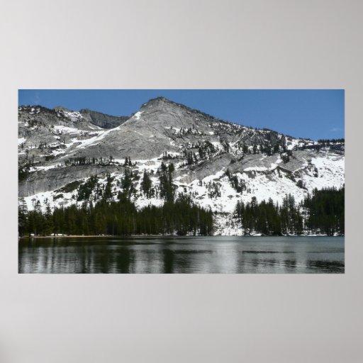 Snowy Tenaya Lake I Print