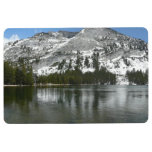 Snowy Tenaya Lake Yosemite National Park Photo Floor Mat