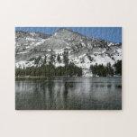 Snowy Tenaya Lake Yosemite National Park Photo Jigsaw Puzzle