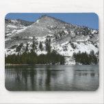 Snowy Tenaya Lake Yosemite National Park Photo Mouse Pad