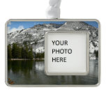 Snowy Tenaya Lake Yosemite National Park Photo Ornament