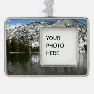 Snowy Tenaya Lake Yosemite National Park Photo Ornament