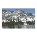 Snowy Tenaya Lake Yosemite National Park Photo Rectangular Sticker