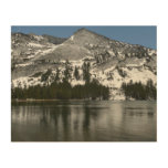 Snowy Tenaya Lake Yosemite National Park Photo Wood Wall Art