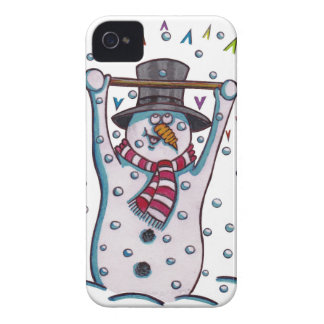 Snowy the Snowman iPhone 4 Covers