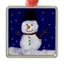Snowy the Snowman Ornament