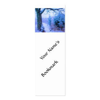 Snowy Trail 1 Business Cards