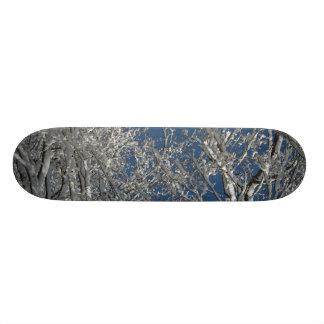 Snowy Tree Board Skateboard Decks