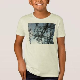Snowy Tree Branch T-Shirt