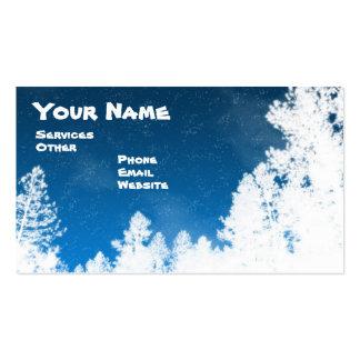 Snowy Tree business card