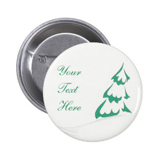 Snowy Tree Button