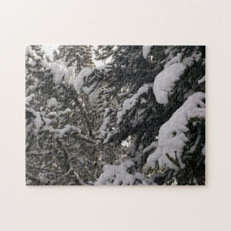 Snowy Tree Jigsaw Puzzle