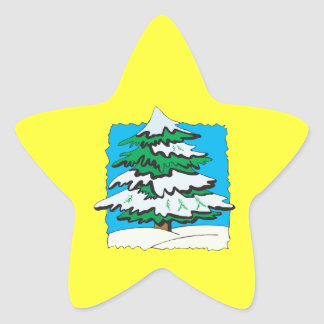 Snowy Tree.png Star Sticker