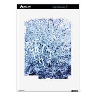 Snowy Tree iPad 2 Decal