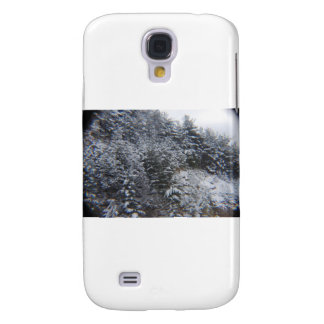 Snowy Trees Galaxy S4 Cases