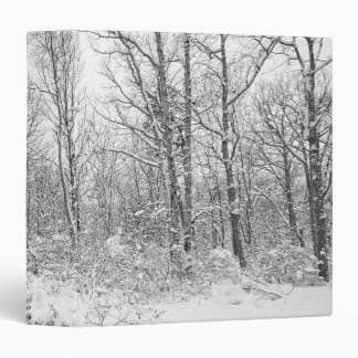 Snowy Trees in the Poconos Binder