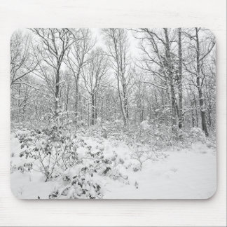 Snowy Trees in the Poconos Mouse Pad