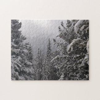 Snowy Trees Jigsaw Puzzle