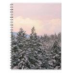 Snowy Trees Landscape Photo Journals