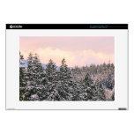 Snowy Trees Landscape Photo Skin For Laptop