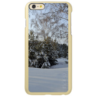 Snowy Winter Day Incipio Feather Shine iPhone 6 Plus Case