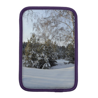Snowy Winter Day iPad Mini Sleeve