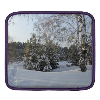 Snowy Winter Day iPad Sleeve