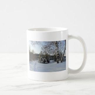 Snowy Winter Day Mugs