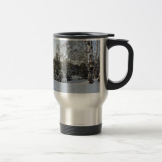 Snowy Winter Day Coffee Mugs