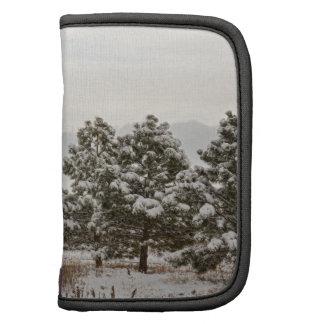 Snowy Winter Pine Trees Planners