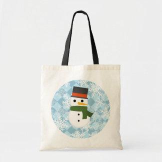 Snowy winter scene bag