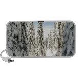 Snowy Wonderland Travel Speaker