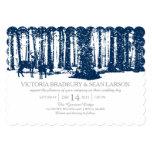 "Snowy Woodland and Deers | Wedding 5"" X 7"" Invitation Card"