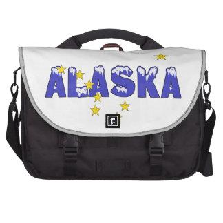 SNOWY WORD ALASKA COMMUTER BAGS