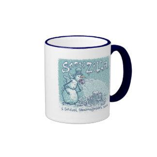 SnowZilla Ringer Mug