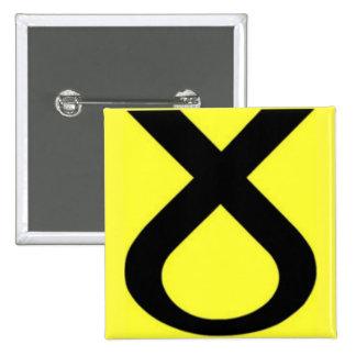 SNP Logo 2 Inch Square Button