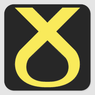SNP Logo Alternative Square Sticker
