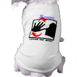 snub nose(animal version) doggie tee shirt