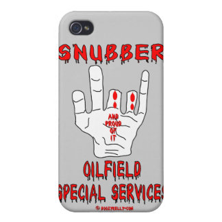 Snubber,Oil Field Special Services,Oil,Gas,Rigs iPhone 4 Cover