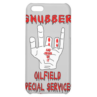Snubber,Oil Field Special Services,Oil,Gas,Rigs iPhone 5C Case