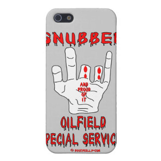 Snubber,Oil Field Special Services,Oil,Gas,Rigs iPhone 5 Covers