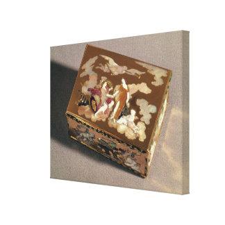 Snuff box canvas print