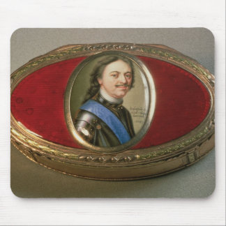 Snuff box with portrait miniature of Peter Mouse Pad