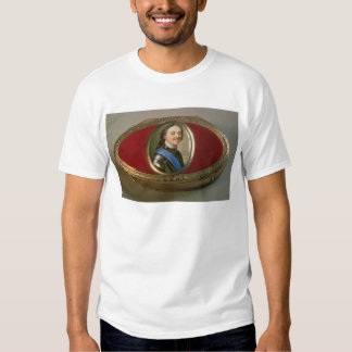 Snuff box with portrait miniature of Peter Shirt